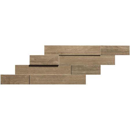 Axi Brown Chestnut Brick 3D 20x44