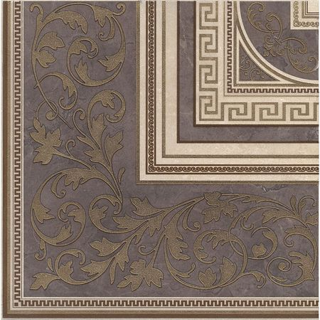 Декор Орсэ ковер угол лаппатированный 40.2х40.2