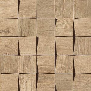 Axi Golden Oak Mosaico 3D 35x35