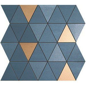 MEK Blue Mosaico Diamond Gold Wall (9MDU) 30,5x30,5 Керамическая плитка