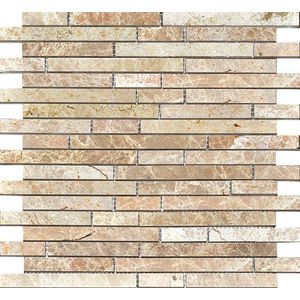Strips Polished Light Emperador 30.5x30.5