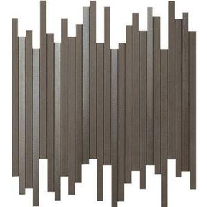 Dwell Brown Leather Mosaico L 30.5x26