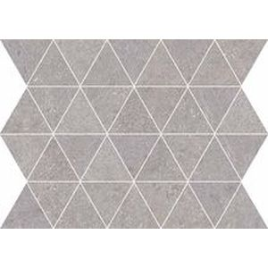 Mosaico Triangoli Gray Rectified 34x26