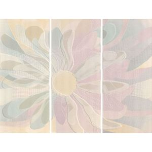 Beige Digiflowers Decoro 72x55