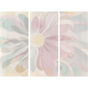 White Digiflowers Decoro 72x55